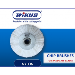 NYLON WIRE CHIP REMOVAL BRUSHES - 100mm OD, 12.5mm ID, 25mm TH